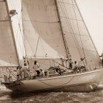 HILARIA (FR)<br>Stephens Abeking Rasmussen yawl 55' 1965