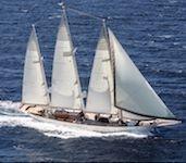 XARIFA (MT)<br>Samuel White & Sons three masted schooner 163' 1927